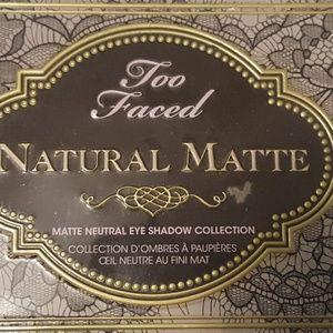 Too Faced Natural Matte eye shadow collection